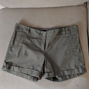 Size 2 Olive Green shorts from The Limited